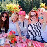 Nilam Farooq, Nicole Weber (Nicole Weber Communications), Anne Meyer-Minnemann (Gruner + Jahr), Veronika Rost (Estée Lauder) und Astrid Bleeker (Gruner + Jahr)
