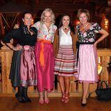 Martina Buckenmaier (Riani), Ulrike Ehrlich (Sportalm), Simone Gastberger (Scalaria) und Nicole Nitschke (Shiseido)