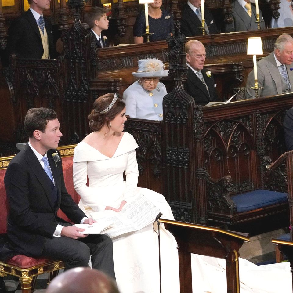 Bei Prinzessin Eugenie und Jack Brooksbanks Hochzeit blieb trotz 850 geladenen Gästen ein Platz frei