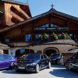 Die 7er BMW-VIP-Flotte stand den Leading Women das ganze Wochenende zur Verfügung.