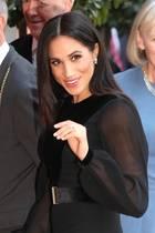 Meghan, die Herzogin von Sussex (* 1981)  geboren alsRachel Meghan Markle