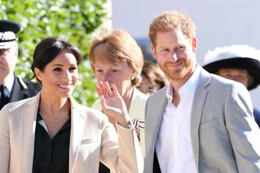 Herzogin Meghan + Prinz Harry