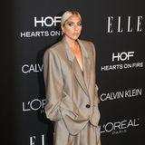 Anzug-Style in XXL: Lady Gaga trägt ein Outfit von Marc Jacobs.