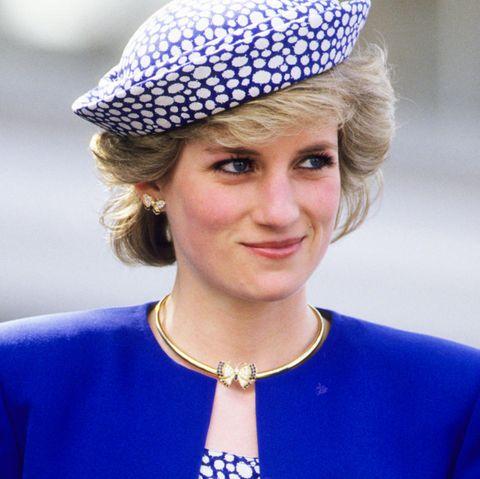 Lady Diana während einer Kanada-Reise im Mai 1986