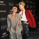 """Zum 25. Mal feierte die ELLE nun schondie vielen erfolgreichen Frauen des Filmbusiness, und wieder bezauberten jede Menge weibliche Hochkaräter bei dem """"Women in Hollywood""""-Event, so wie Lady Gaga und Charlize Theron."""
