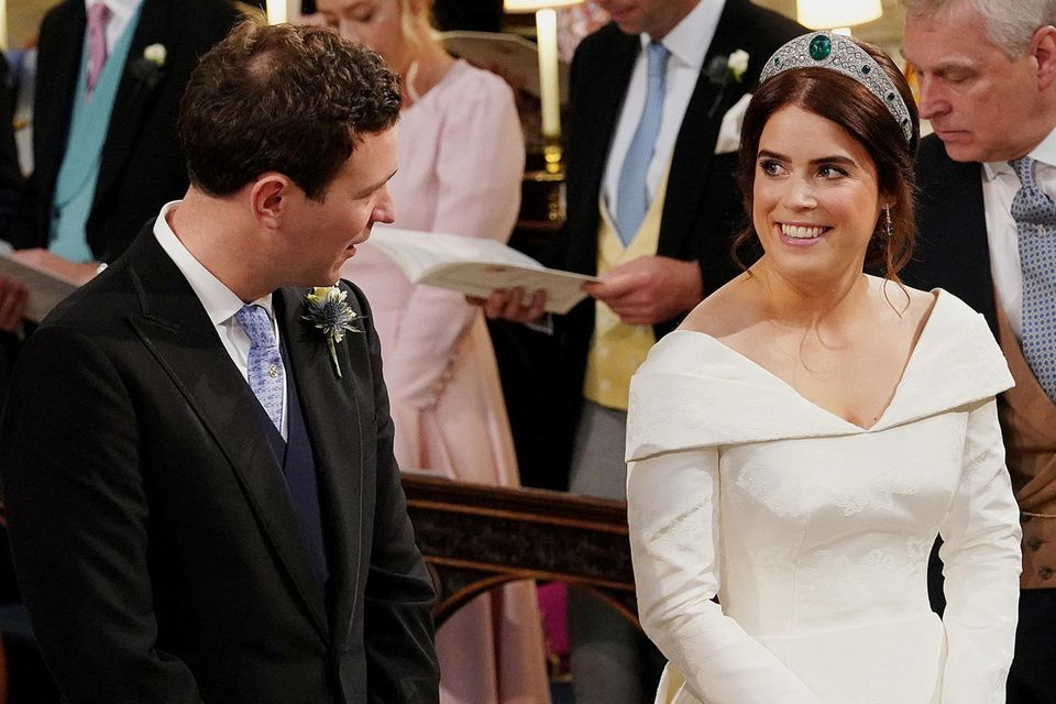Prinzessin Eugenie und Jack Brooksbank
