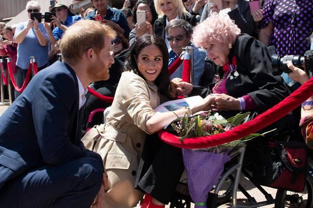 Prinz Harry, Herzogin Meghan, Daphne Dunne