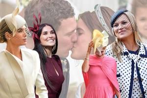 Prinzessin Eugenie + Jack Brooksbank: Die schönsten Wedding-Looks der Gäste mit KateMoss und Co.