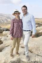 16. Oktober 2018  Prinzessin Victoria und Prinz Daniel ganz entspanntbei einer Wanderung auf dem Jordan Trail.