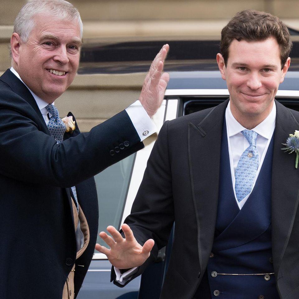 Prinz Andrew und Jack Brooksbank
