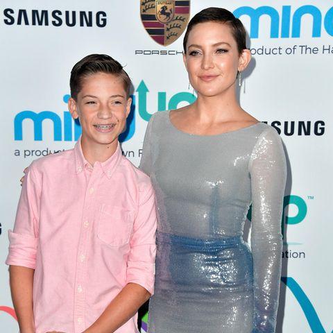 Kate Hudson mit ihrem Sohn Ryder Robinson