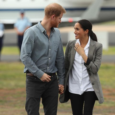 Herzogin Meghan und Prinz Harry schwer verliebt in Australien