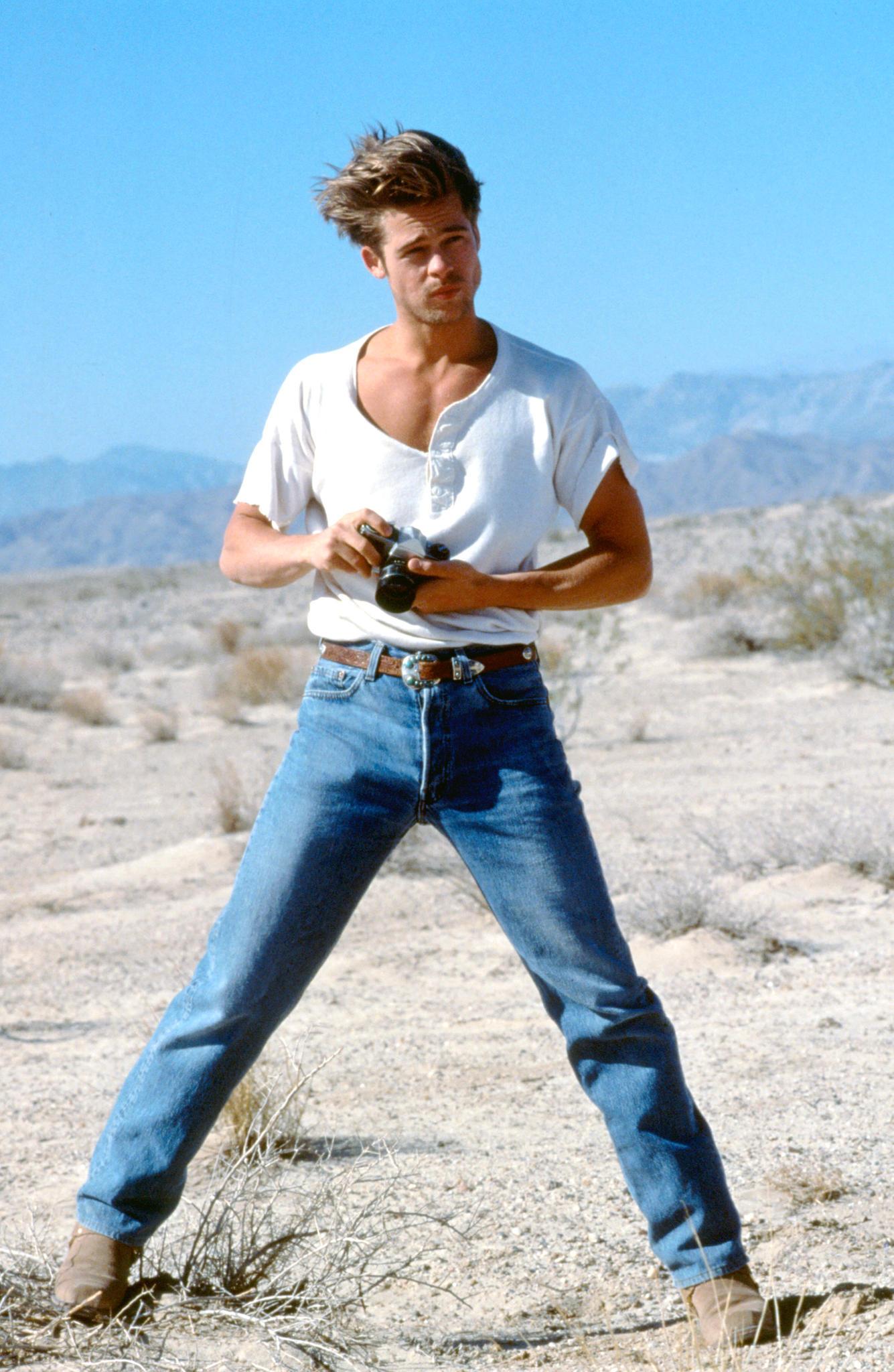 Brad Pitt Anfang 1990