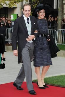 Jean von Orléans und seine Frau Philomena, oder auch: Graf und Gräfinvon Vendome