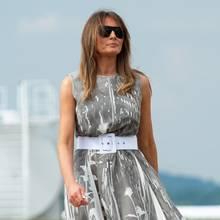 Melania Trump musste notlanden