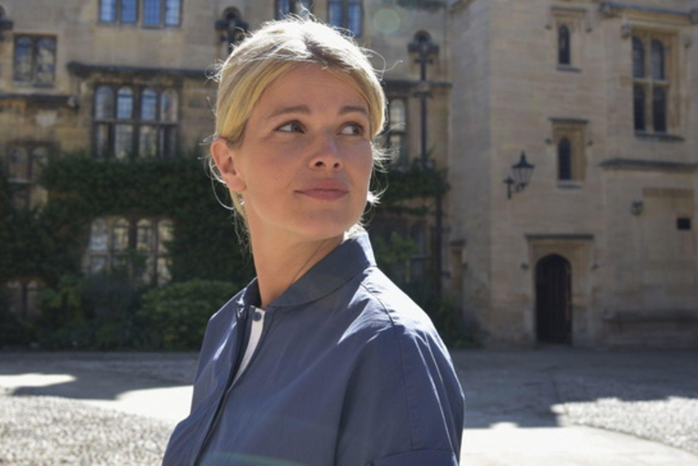 """Mira Bartuschek in der """"ZDF""""-Romanze """"Ein Sommer in Oxford""""."""