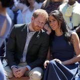 Tag 4  Prinz Harry und Herzogin Meghan beim Besuch der Macarthur Girls High School.