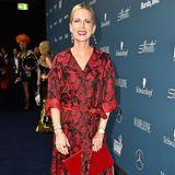 """Im floralen Look ist Tamara Gräfin von Nayhauss bei der """"Tribute to Bambi""""-Gala unterwegs."""