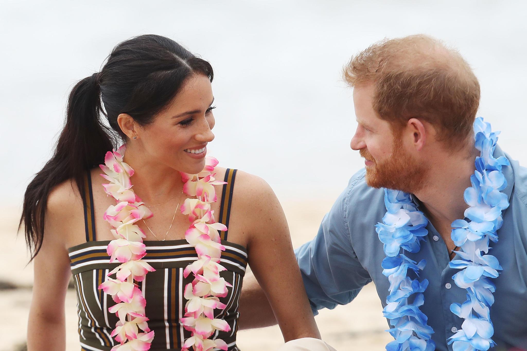 So verliebt: Herzogin Meghan und Prinz Harry in South Bondi Beach