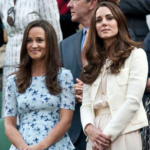 Pippa Middleton und ihre Schwester Herzogin Catherine freuen sich über den Nachwuchs von Pippa
