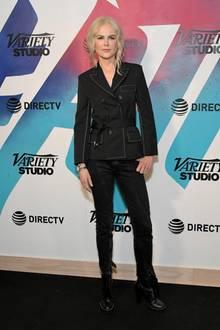 Die Schauspielerin Nicole Kidman soll bei einer Körpergröße von 1,80 Meter einen Taillenumfang von etwa 70 cmbesitzen.