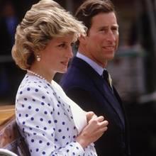 Prinzessin Diana und Prinz Charles in Venedig, 1985.