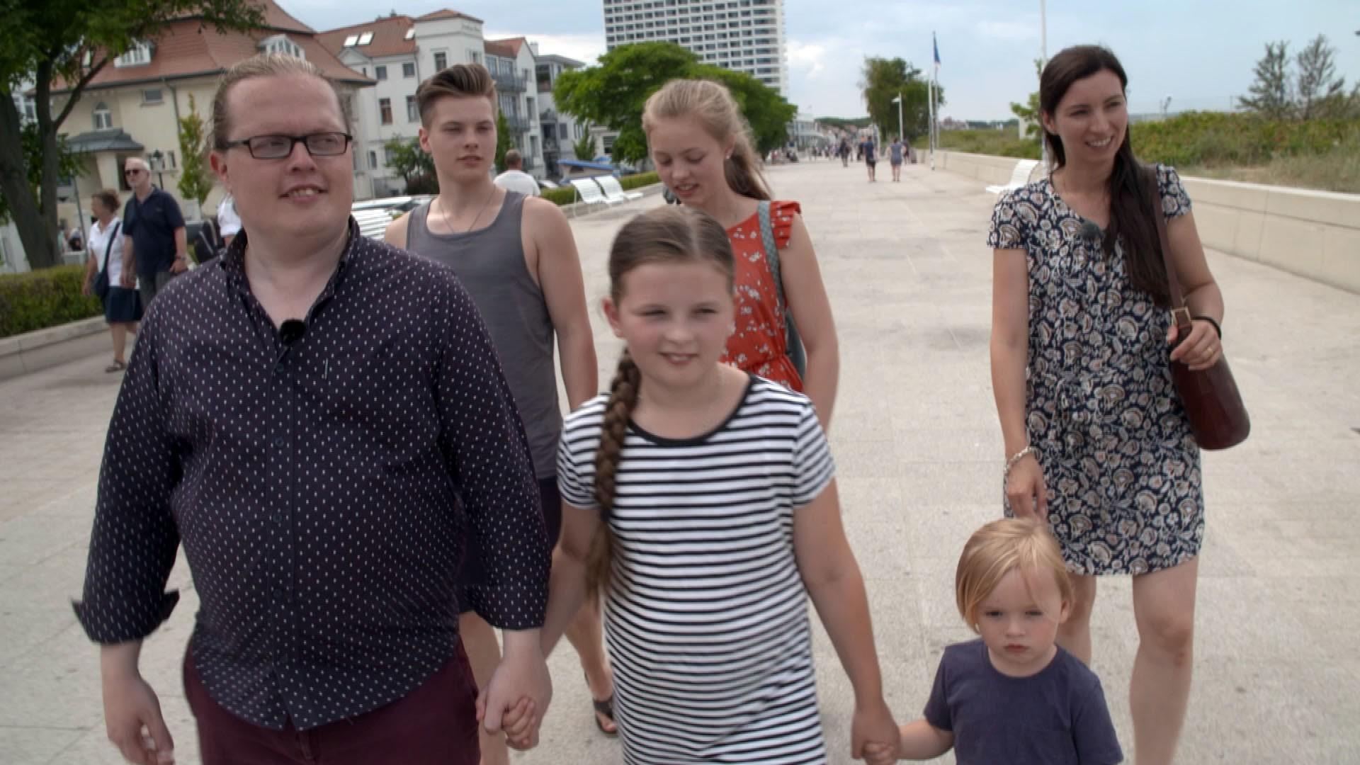Angelo Kelly + seine Famile