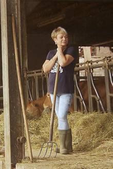 """Kathrin ist Kandidatin bei """"Bauer sucht Frau""""."""