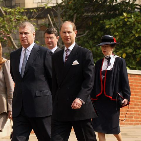 Prinz Andrew, Prinz Edward und Prinzessin Anne