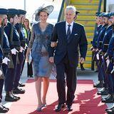 22. Oktober 2018  König Philippe und Königin Mathilde sind zu ihrem Staatsbesuch in Portugal eingetroffen. Drei Tage lang ist das Königspaar in Lissabon und Porto zu Gast.