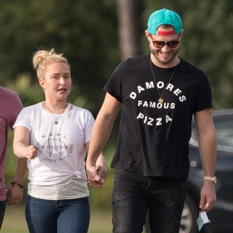 Hayden Panettiere und Brian Hickerson am 21. Oktober 2018 in Florida