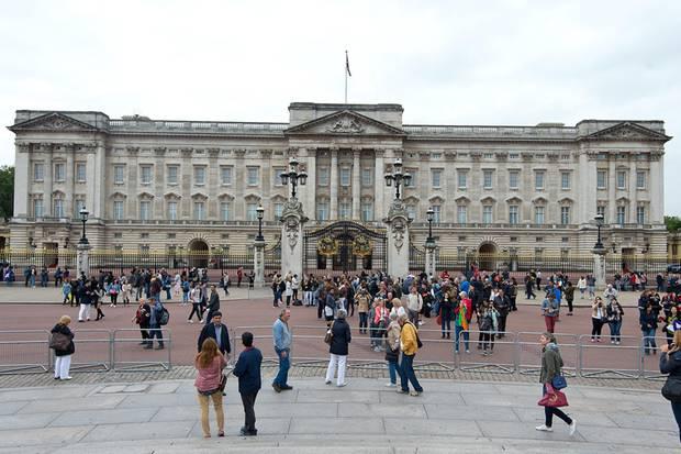 Der Buckingham Palast in London