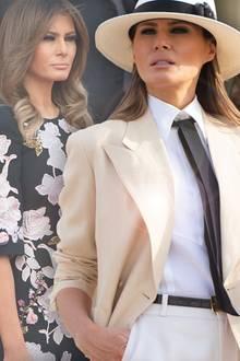 Melania Trump ist ein Mode-Chamäleon
