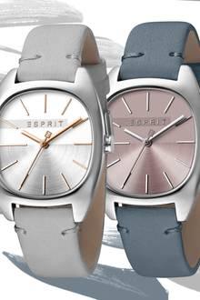 Gewinnen Sie eine von fünf trendigen Zeitmessern aus der Infinity-Kollektion von Esprit