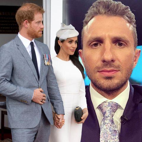 Herzogin Meghan + Prinz Harry: Dieser Mann verpasste ein Treffen mit den Royals