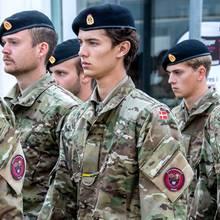 Prinz Nikolai von Dänemark hat seine Militärausbildung abgebrochen