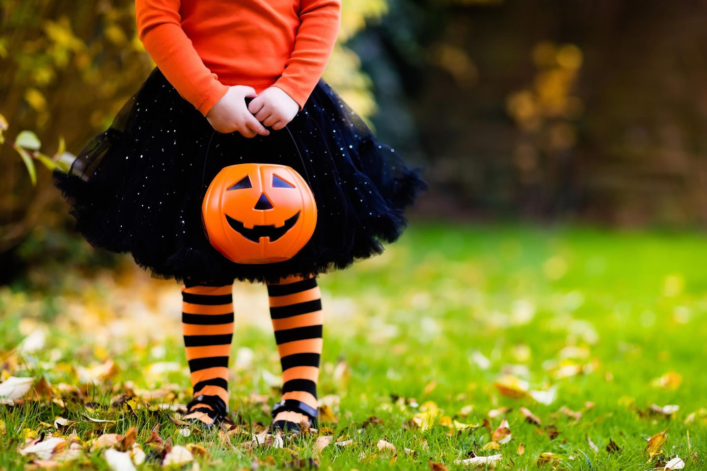Halloweenkostüme für Kinder kann man auch selbermachen