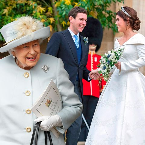 Queen Elizabeth, Prinzessin Eugenie und Jack Brooksbank