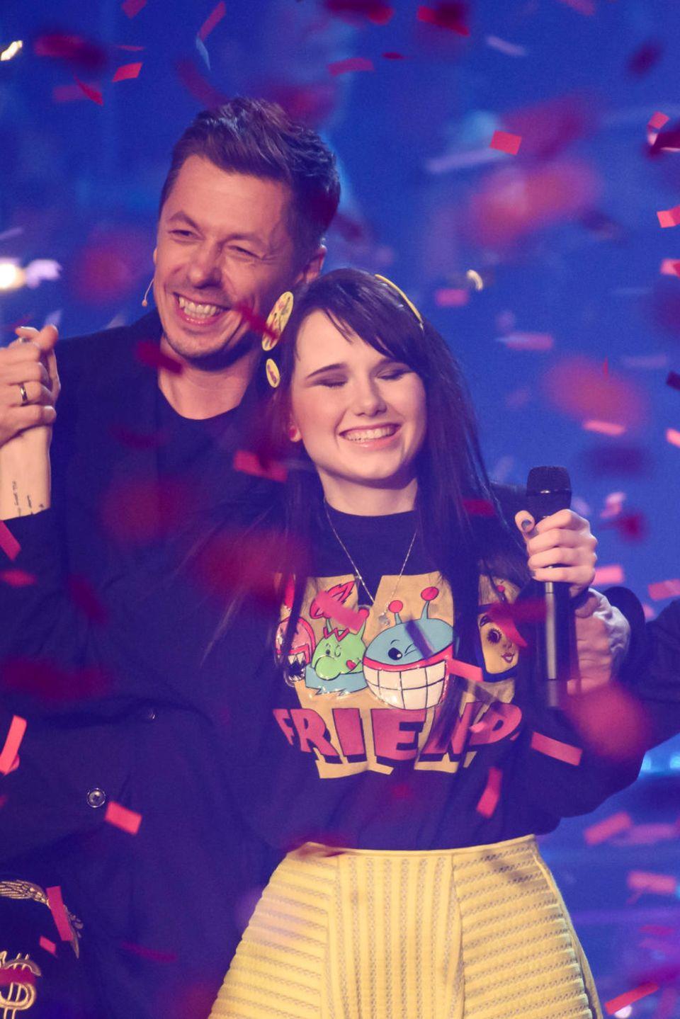 """Jamie-Lee Kriewitz gewann 2015 """"The Voice of Germany"""""""