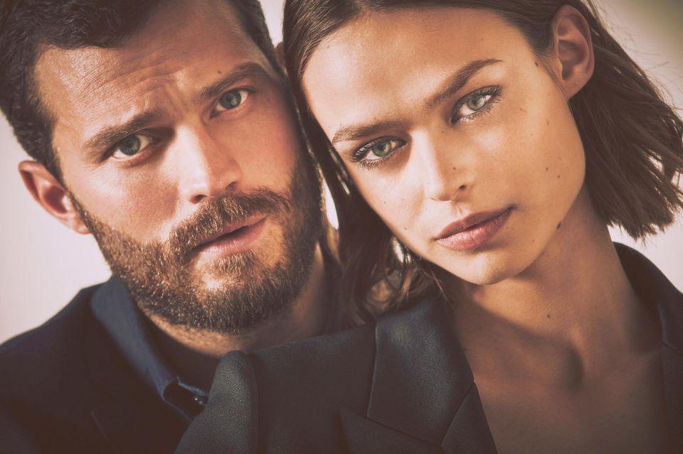Jamie Dornan und Birgit Kos in der neuen Kampagne für Boss The Scent.
