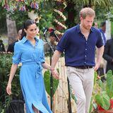 """Tag 11  Weiter geht es für Herzogin Meghan und Prinz Harry zum Tupou College, wo sie die """"Queen's Commonwealth Canopy"""" repräsentieren, eine Initiative, die verschiedene Forstschutzprogramme vereint."""