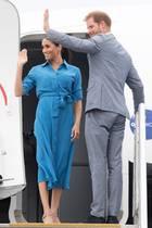 Tag 11  Bye bye, Tonga! Bevor es am Sonntag nach Neuseeland geht, fliegt das royale Traumpaar erst einmal wieder zurück nach Sydney.
