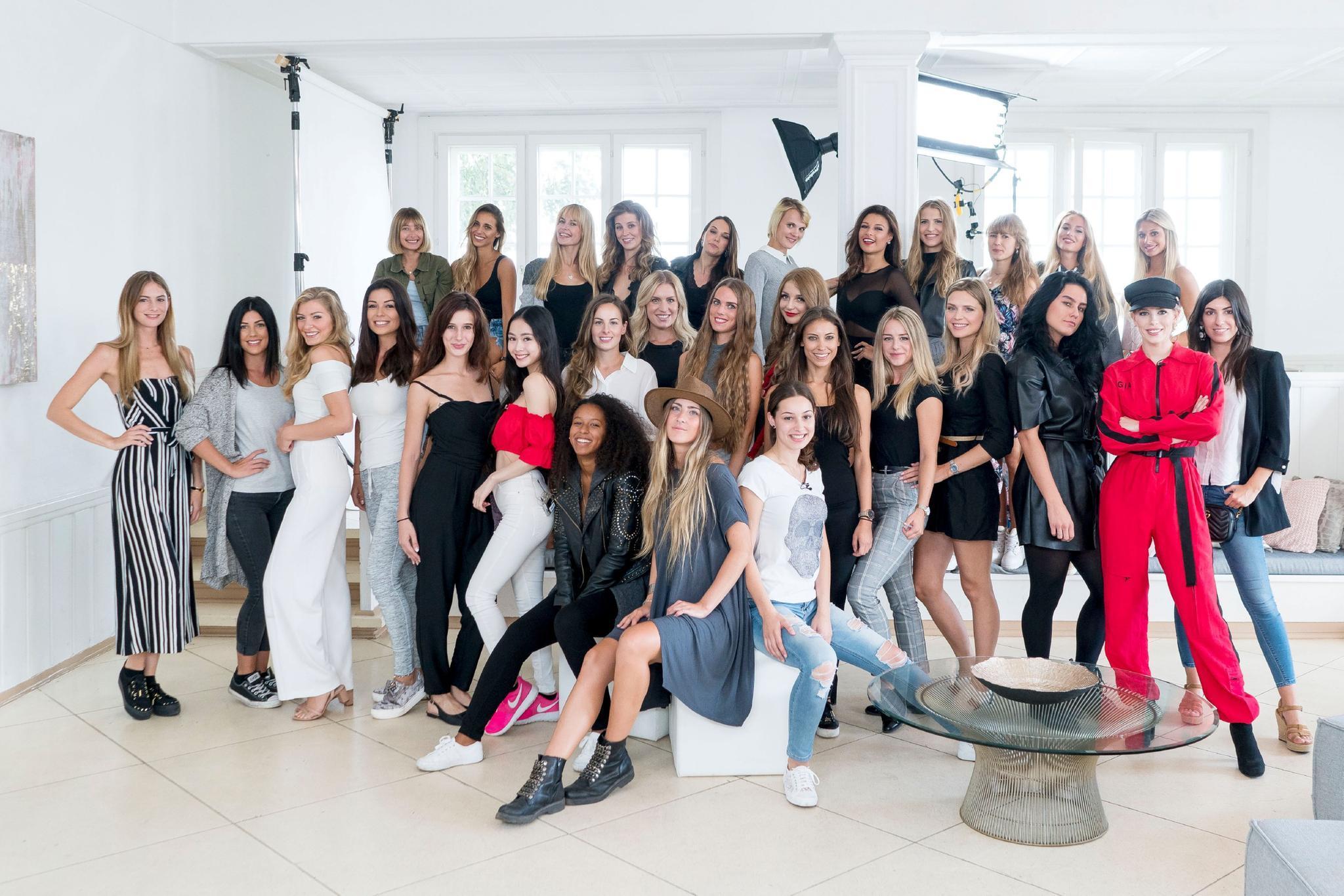 """Das sind die Top 30 der TV-Show """"Sylvies Dessous Models"""""""