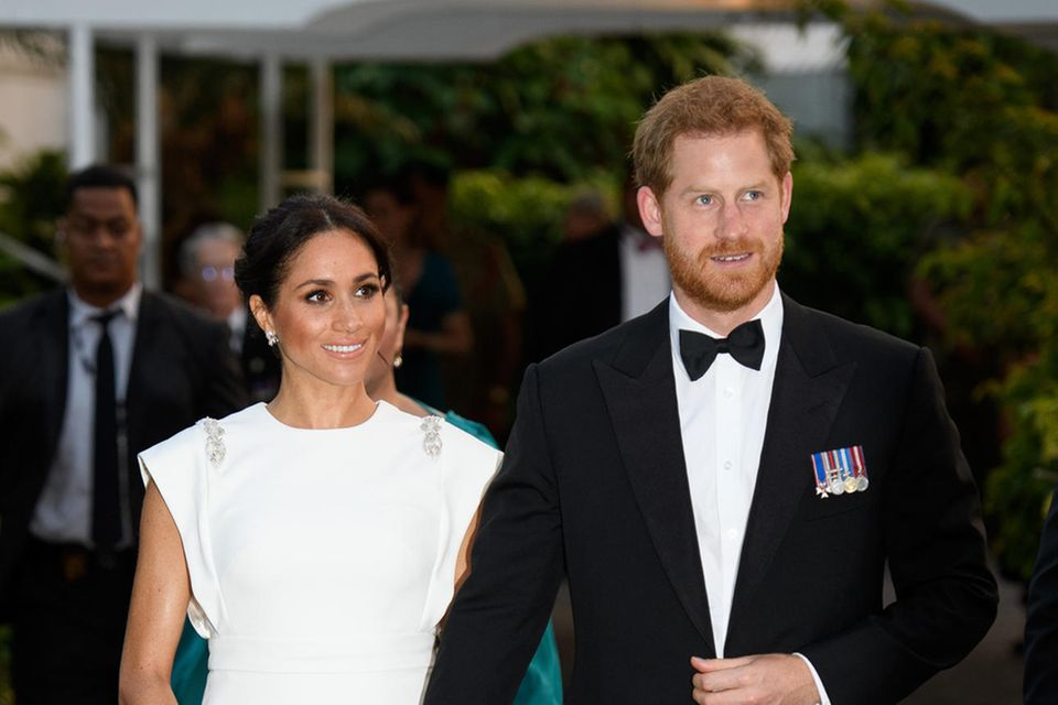 Herzogin Meghan und Prinz Harry in Tonga