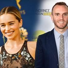 """Sind """"Game of Thrones""""-Star Emilia Clarke und Regisseur Charlie McDowell etwa ein paar? Ein gemeinsamer Instagram-Post sorgt für Spekulationen."""