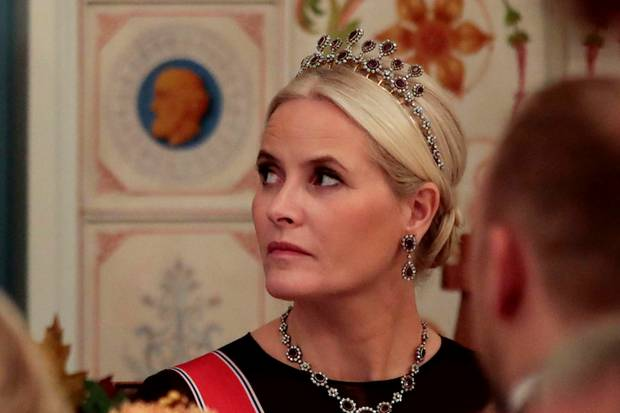 Schöne Überraschung: Prinzessin Mette-Marit konnte am 25. Oktober am Parlamentsdinner in Oslo teilnehmen.