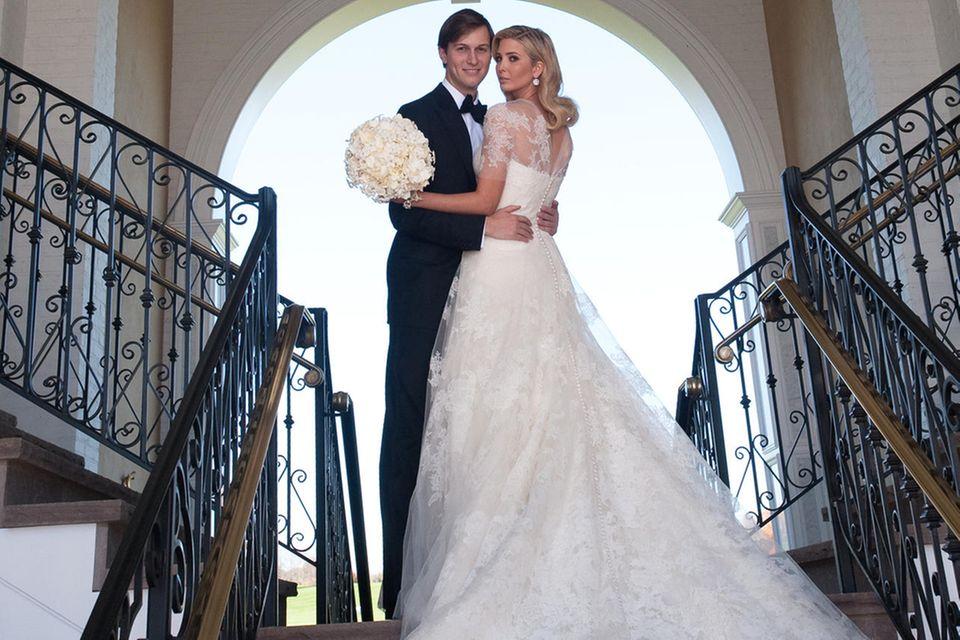 Ivanka Trump und Jared Kushner bei ihrer Hochzeit im Oktober 2009.