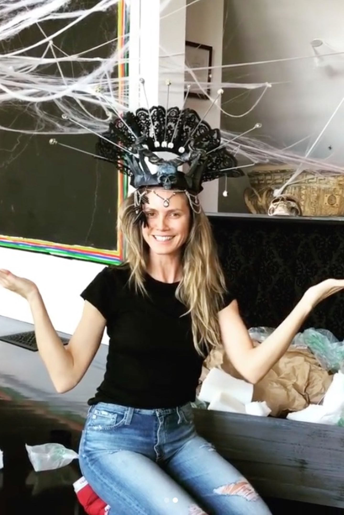 "Heidi Klum ist ""Queen of Halloween"""