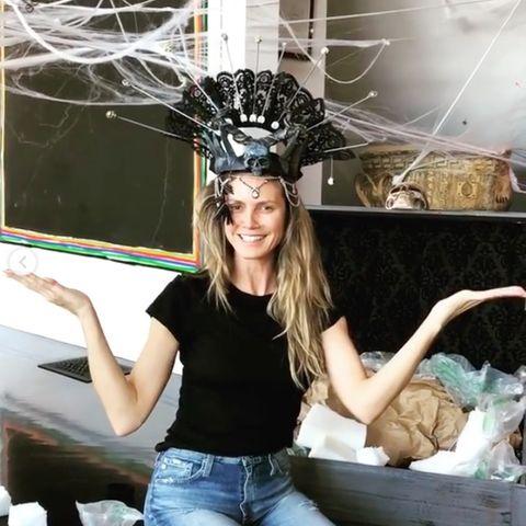 """Heidi Klum ist """"Queen of Halloween"""""""