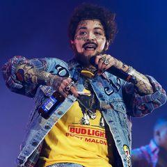 """Na, erkennen Sie diesen """"Rapper"""", oder zumindest wer sich mit den vielen auffälligen Tattoos und seinem Gesamtlookkostümiert hat?"""